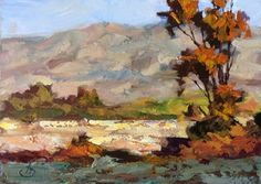 NEW YEAR RESOLUTION and PLEIN AIR WORKSHOP by TOM BROWN, painting by artist Tom Brown