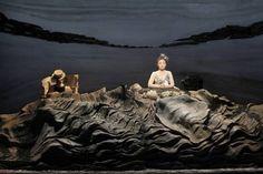 """""""Oh les beaux jours"""" de S. Beckett (avec Catherine Frot), Théâtre"""