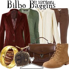 A fun little rule breaker! DisneyBound is aware LOTR and The Hobbit is not Disney :) Buy it here!