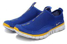 TTotir2008 Nike Free Cross-Country Hommes bleu saphir jaune, veteHommest nike pas cher