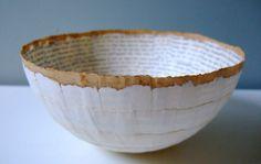 Cecilia Levy Paper Bowls