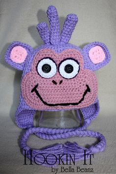 Boots Boots the monkey inspired hat from Dora the Explorer