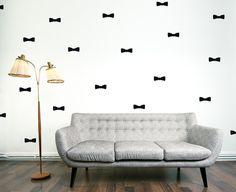 Bow Wall Decal / Bow ties Wall Decal / Boys by OhongsDesignStudio