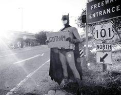 Autostop direction Gotham pour Batman