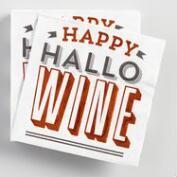 Happy Hallowine Beverage Napkins 20 Count