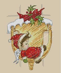 Cross Stitch * <3 * Natal - Noël 1/3