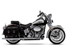 Large Harley-Davidson FLSTS Heritage Springer motorcycle picture and wallpaper Motos Harley Davidson, Milwaukee, Riders On The Storm, Bike Pic, Harley Davison, Sport Bikes, Cool Bikes, Biker, Chopper