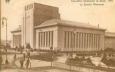 Exposition Universelle de Gand 1913 / Ghent 1913 | Flickr - Photo Sharing! #Expo2015 #Milan #WorldsFair