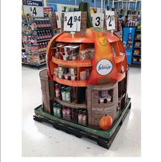 Home Harvest Collection Pallet Display