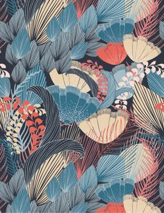 beautiful textile print