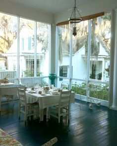 screen porch luncheon: The Gracious South in the Hot, Hot Summer