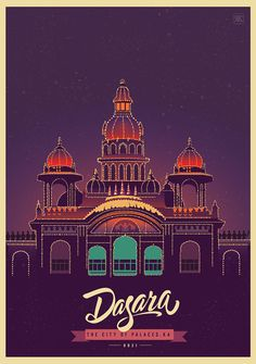 Ranganath Krishnamani has published a new series of beautiful illustrations to continue his celebration of India. The art cards celebrates the iconic landmarks of the country. Indian Illustration, City Illustration, Digital Illustration, Bts Design Graphique, India Poster, Tourism Poster, India Art, Home Movies, Illustrations And Posters