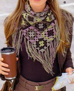 Galería: Increíbles Bufandas a Crochet | CTejidas [Crochet y Dos Agujas]