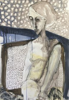 images from solo exhibition at Anthea Polson Art Gallery February 2017 Portrait Art, Portraits, Ordinary Lives, Art Life, Portrait Inspiration, Fabric Art, Psych, Figure Drawing, Figurative Art