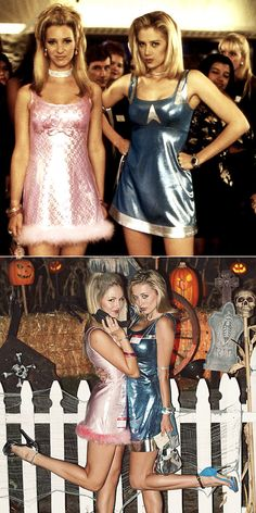 '90s Halloween Costumes For Couples: Romy and Michele