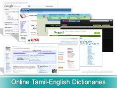 Aangilam | ஆங்கிலம் - Learn English grammar through Tamil | Online Tamil-English Dictionaries Learn English Grammar, Teaching English, English Language, Tamil Language, English Dictionaries, Natural Health Remedies, Learning, Google Search, English People
