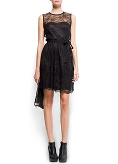 Lace cocktail dress by French Connection ($120)