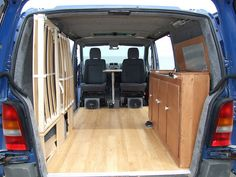 Surf Van Interior Vito surf/camper van flickr