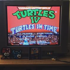 On instagram by retro_cod #supernintendo #microhobbit (o) http://ift.tt/28VMYNZ a good time to hang out with some turtles and eat some pizza  #tmnt #turtlesintime #heroesinahalfshell #snes  #nintendo #nin10do #nintendolife #retrogamer #retrocollective #retrocollectiveus #collector #gameroom #mancave #gametime #metime #chillin #favs #sofun #bigapple3am #sony #trinitron #crtgaming