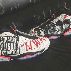 The Game Air Jordan 6 Low Straight Outta Compton - Sneaker Bar Detroit Sneakers N Stuff, Jordans Sneakers, Air Jordans, High Top Sneakers, Michael Jordan Sneakers, Air Jordan Shoes, Straight Outta Compton, Sneaker Bar, Shoe Closet