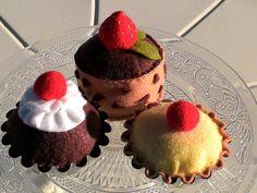Pincuschion. Felt food. Felt cookies. Felt pastry. by MoCactus
