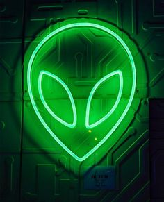Alien neon light The truth is out there! This stunning wall light uses LED technology for a classic neon effect, but with the benefit of being safer & longer lasting (around hrs). Measures approximately Wall fittings and UK plug included. Alien Aesthetic, Rainbow Aesthetic, Aesthetic Colors, Aesthetic Green, Bedroom Wall Collage, Photo Wall Collage, Picture Wall, Concept Alien, Tumblr Neon