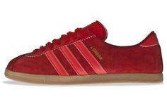 adidas Originals London (Red / Gum). Release: 2011. #adidasoriginals #adidaslondon