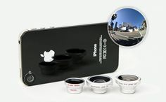 Get Take Advantage Of Every Photo Opportunity - The 3-In-1 Lens Kit: Supercharge Your Smartphone Camera (65% off)