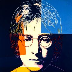 Navy Blue John, by Andy Warhol