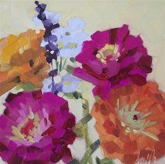 """Daily+Paintworks+-+""""Color+Show""""+-+Original+Fine+Art+for+Sale+-+©+Brandi+Bowman"""