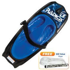 O'Brien Radica Kneeboard With Free Handle And Rope