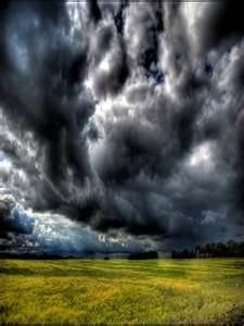 Wow. These storm clouds are incredible!