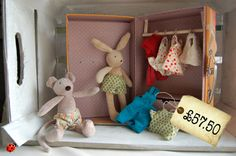 This is a beautiful, well-made gift for any little person who loves their soft toys and a bit of dressing up.