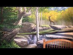 Painting Tuscan landscape? - Mural Joe - YouTube