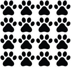 Buy Yadda-Yadda Design Co. Dog Paw Prints - Matte Finish Vinyl Decal Sticker for Walls, Electronics (Color Variations Available) (Black, Paw Patrol Party, Paw Patrol Birthday, Perros Paw Patrol, Vinyl Wall Decals, Wall Stickers, Everest Paw Patrol, Cumple Paw Patrol, Diy Wallpaper, Diy Stuffed Animals