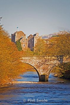 Doune Castle and the Bridge of Teith