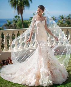 3ec34b2a343e The Sea of Senses Wedding Collection 2019 by Oksana Mukha