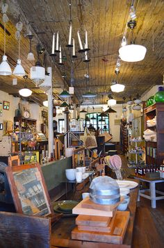 Moon River Chattel in Williamsburg, Brooklyn - New York // via the Spotted SF Blog