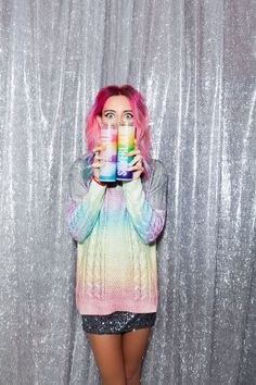 #ChloeNorgaard with The 'Bu Candle