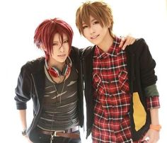 Rin and Makoto - Free!