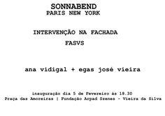 ana vidigal: INTERVENÇÃO NA FACHADA DO MUSEU ARPAD SZENES-VIEIR...