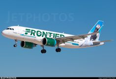 Photo of - Airbus - Frontier Airlines All Airlines, Air Planes, Busses, Photo Online, Airports, Aviation, Aircraft, Civil Aviation, Norte