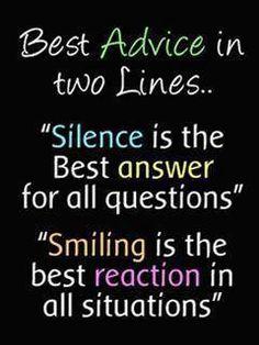 In twee regels...