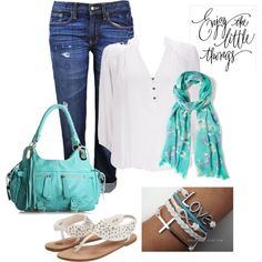 Spring Casual, created by amysuzyq on Polyvore