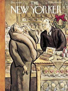 The New Yorker - Saturday, December 10, 1932 - Issue # 408 - Vol. 8 - N° 43 - Cover by : William Steig