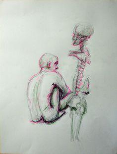 "Saatchi Online Artist Ilaria Berenice; Drawing, ""Anatomy 1"" #art"