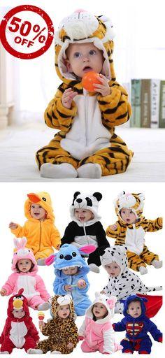 Cute Baby & Toddlers Animal Pyjamas. Free Worldwide Shipping