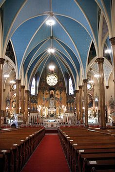 Church where I was married - St. The first polish catholic church in Detroit Colour Architecture, Church Architecture, Religious Architecture, Architecture Details, Detroit Rock City, Detroit Area, Old Churches, Catholic Churches, Catholic Saints