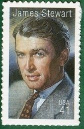 Stewart - Single Stamp in Legends of Hollywood Series United States, 2007 James Stewart - Single Stamp in Legends of Hollywood Series United States, Stewart - Single Stamp in Legends of Hollywood Series United States, 2007 Old Stamps, Vintage Stamps, Rare Stamps, Vintage Tools, Commemorative Stamps, Postage Stamp Art, Going Postal, Classic Movie Stars, Classic Movies