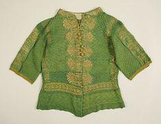 Sweater, late 17th century, European.